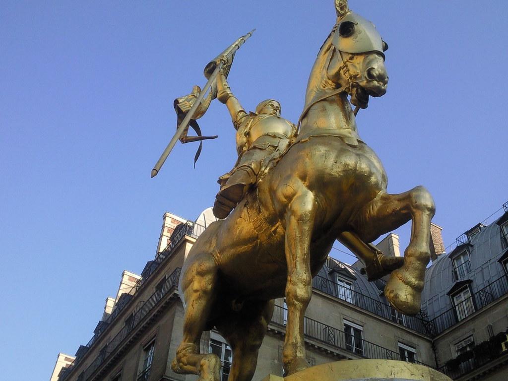 Giovanna d'Arco simbolo di storia delle donne