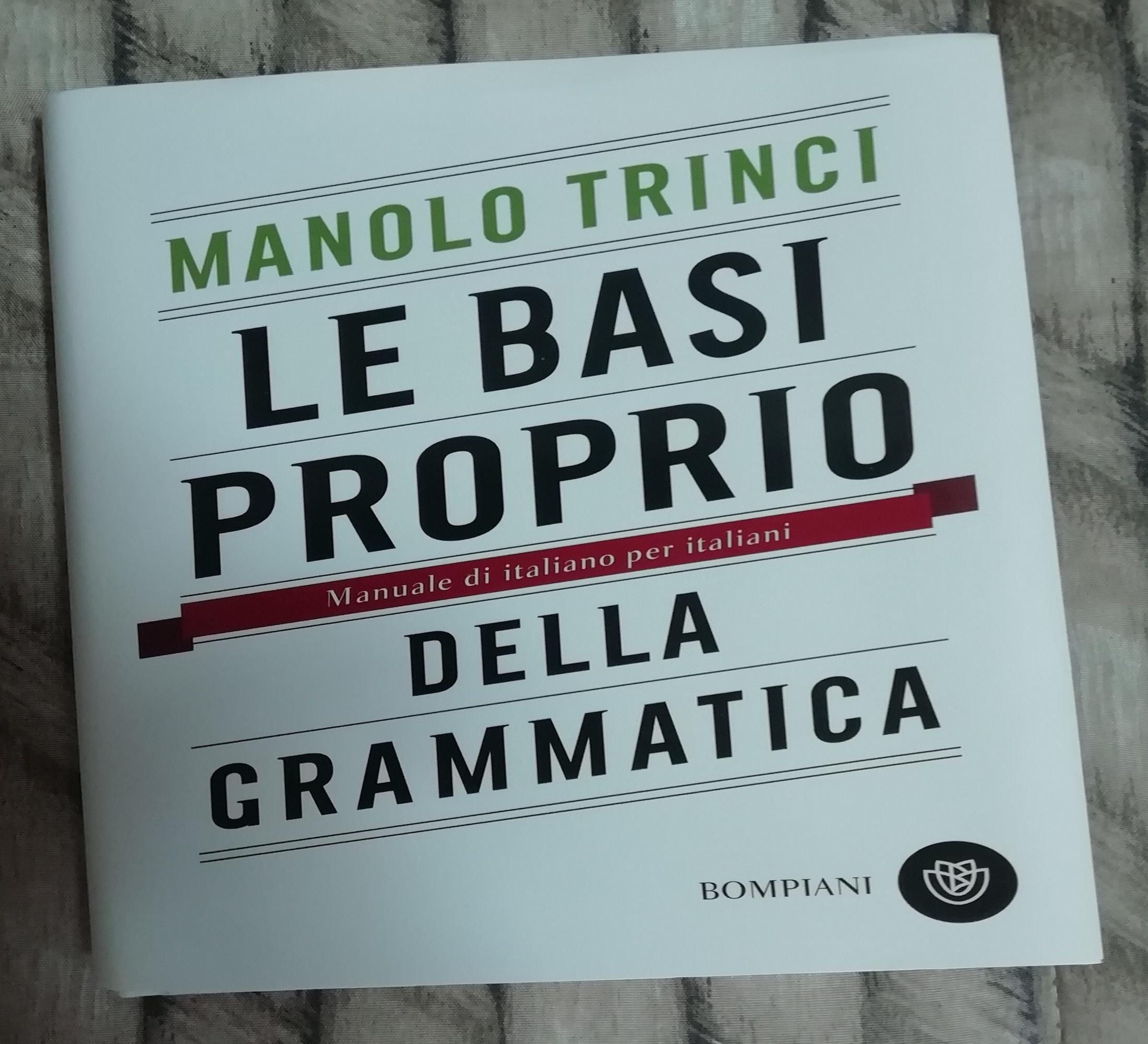 libro grammatica italiano