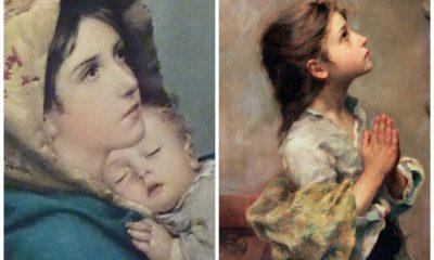 roberto ferruzzi madonna col bambino