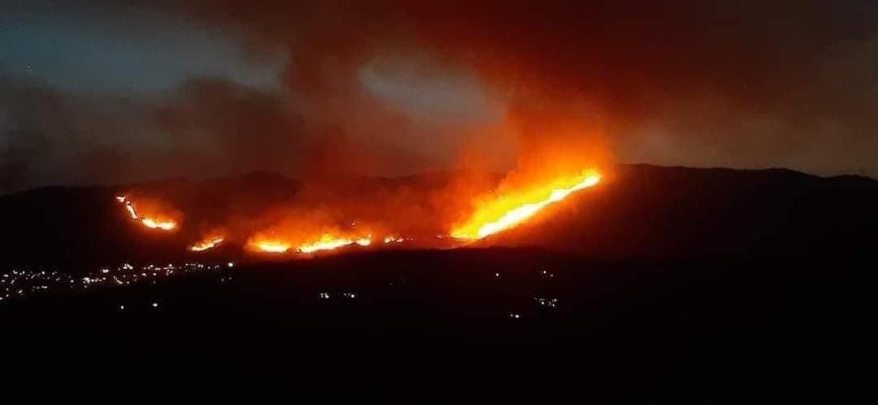 incendi fuoco tivoli sardegna
