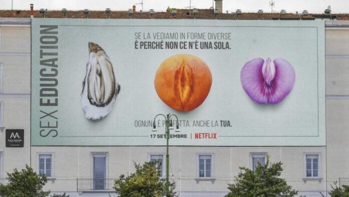 Sex Education milano pubblicità polemiche